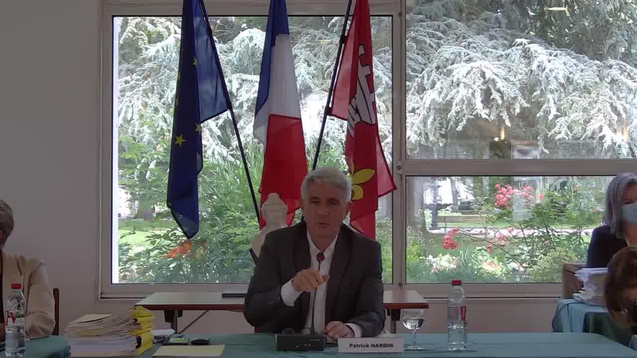 Conseil municipal du 1er juillet 2021